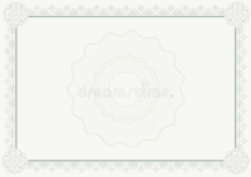 Download Certificado do diploma ilustração stock. Ilustração de curva - 12805154