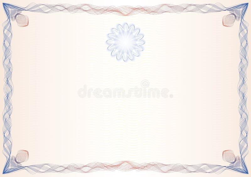 Certificado, graduado, diploma ilustração royalty free
