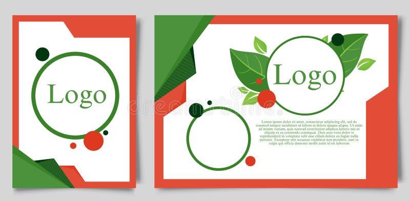 Certificat de calibre d'appréciation avec le fond et le joint onduleux légers dynamiques verts de remous Illustration de vecteur illustration stock