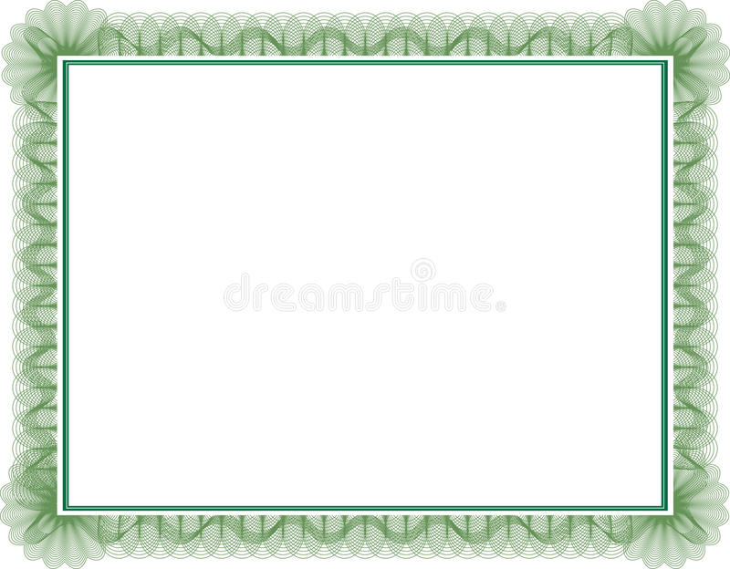 Certificate vector illustration