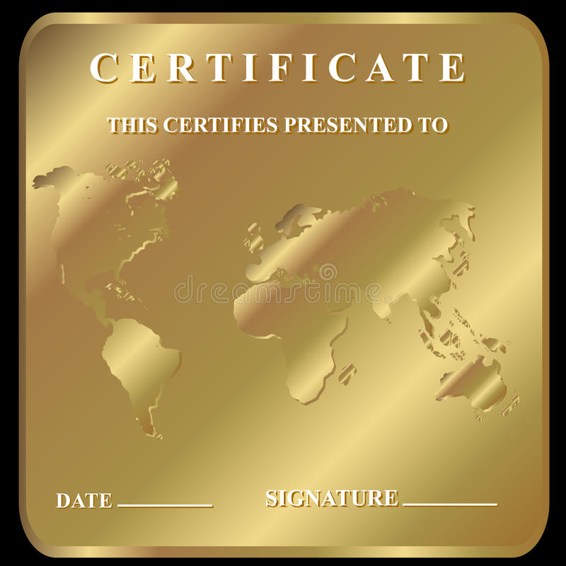 Download The Certificate Stock Photo - Image: 25951660
