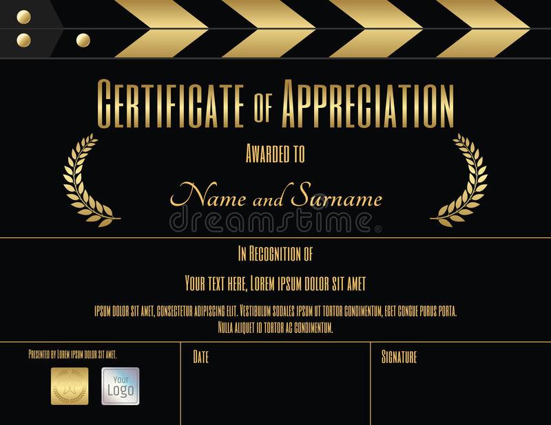 A certificate movie