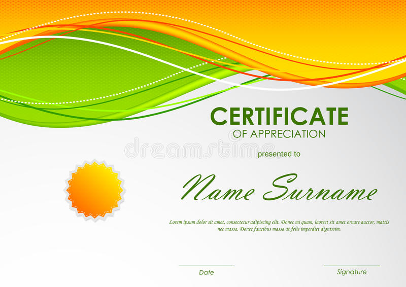 Certificate of appreciation templates free download download certificate of appreciation template stock vector illustration of document diploma 82392945 certificate of yelopaper Images