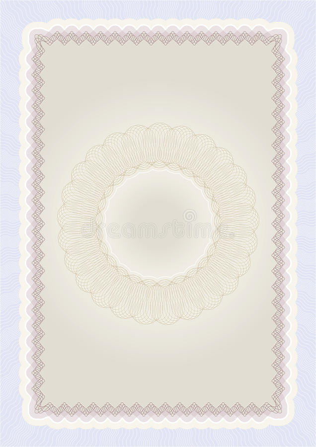 Download Certificate background 02 stock vector. Image of pattern - 18030365