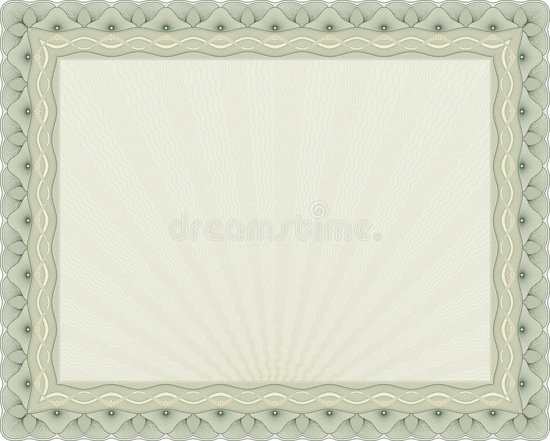 Certificate background 04. A secured document background. Vector guilloche
