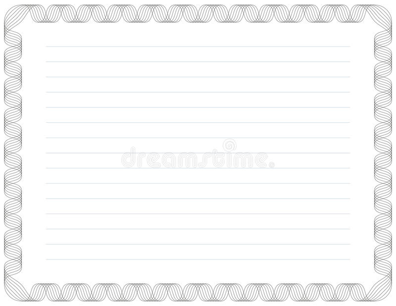 Certificate Background. Guilloche Background for Certificate, Voucher, Diploma (stroke widths are editable vector illustration