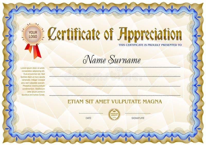 science achievement certificate template
