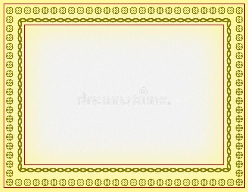 Download Certificate border stock illustration. Image of corner - 6333547