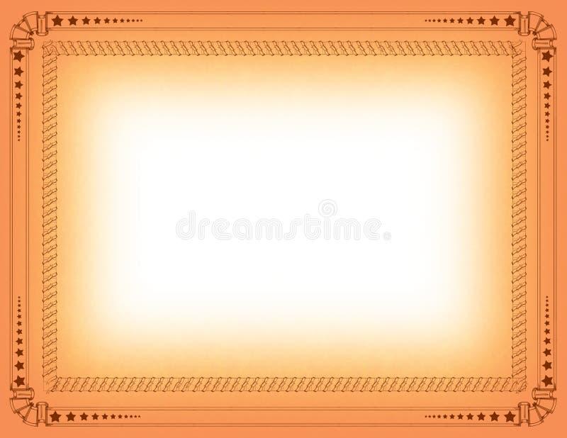 Download Certificate border stock illustration. Image of frame - 6333601