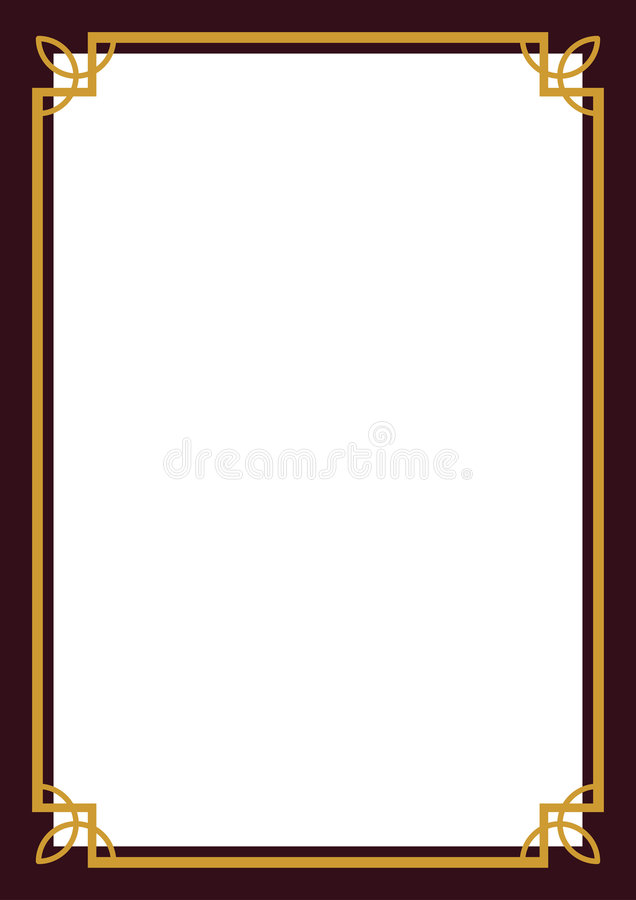 certificate border stock vector illustration of vector 7942728 rh dreamstime com certificate border vector free certificate border vector download