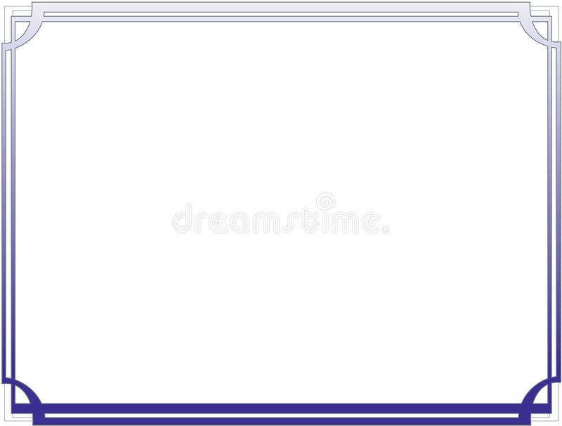 certificate border letter sized 010 stock vector illustration of rh dreamstime com certificate border vector free certificate border vector cdr