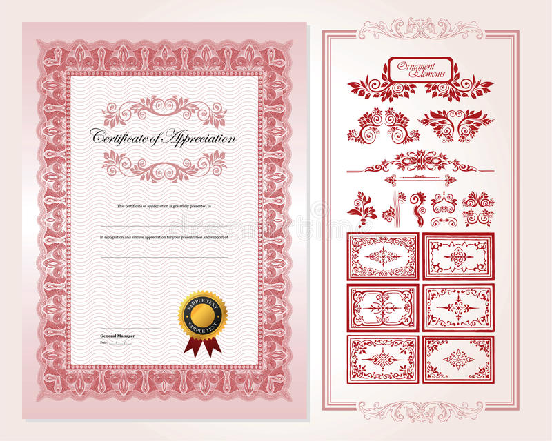 Download Certificate Design Template Stock Images - Image: 21188544