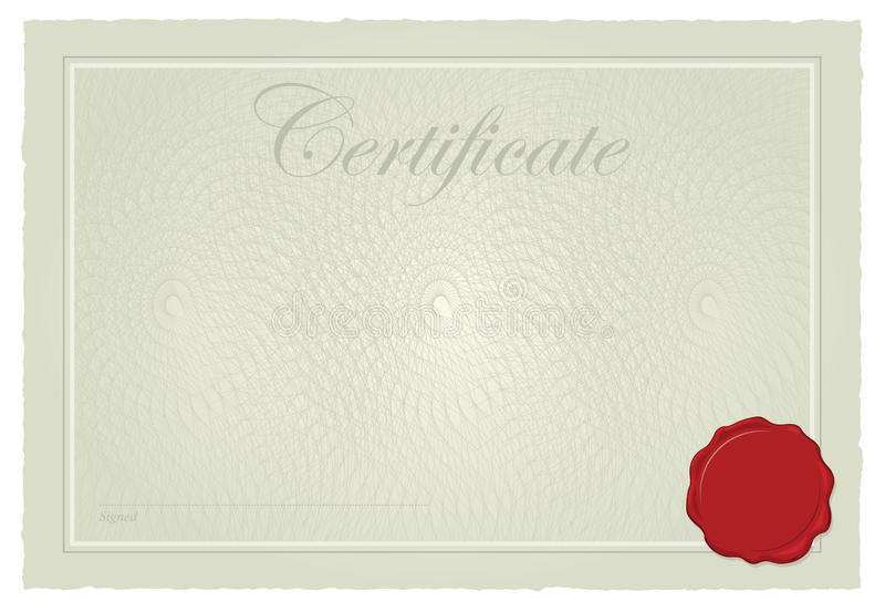 Download Certificate, Diploma Template Stock Illustration - Image: 17872558