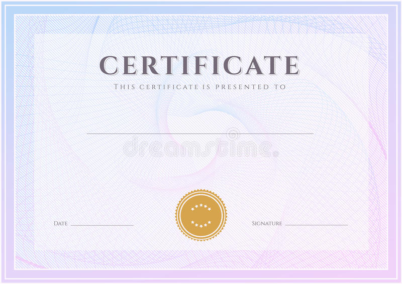 Certificate diploma template award pattern stock vector download certificate diploma template award pattern stock vector illustration of background education yelopaper Gallery