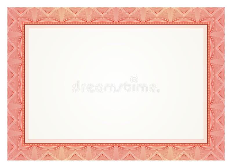 Certificate Frame - Border vector illustration