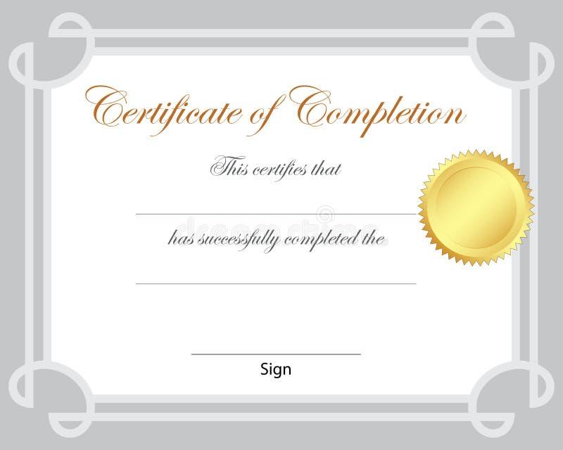 Certificate vector illustration