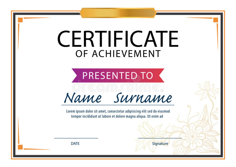 Certificate Layout Ukranochi