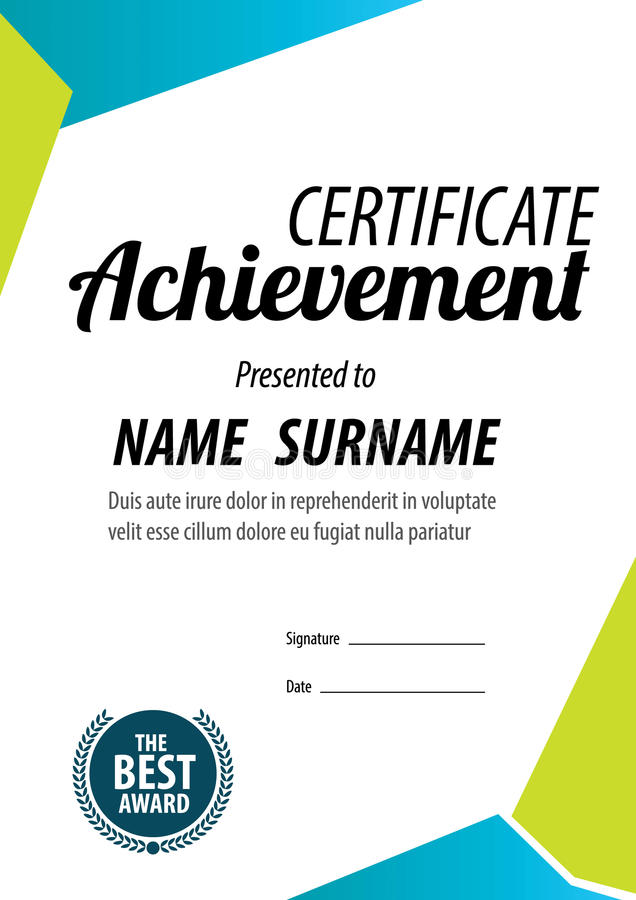 Certificate templatediplomaletter size vector stock vector download certificate templatediplomaletter size vector stock vector illustration of company yadclub Gallery