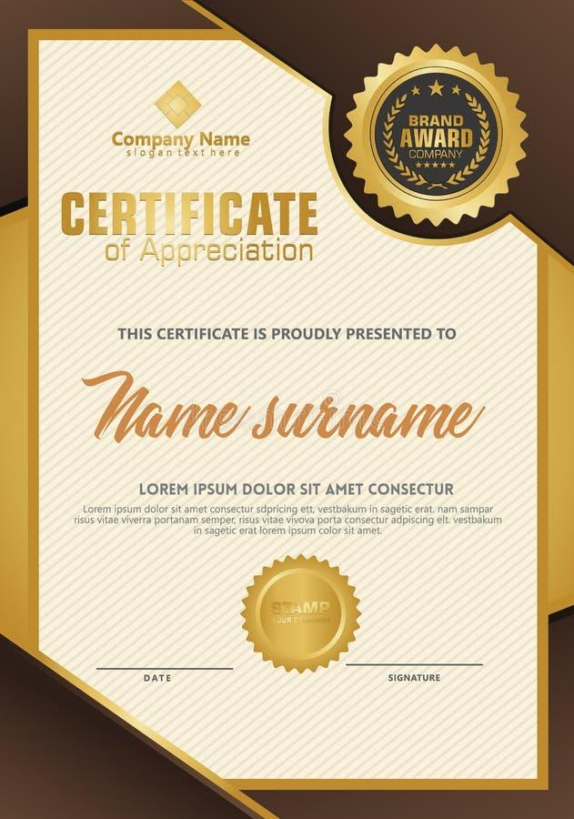 Certificate Appreciation Stock S Download 111 Royalty