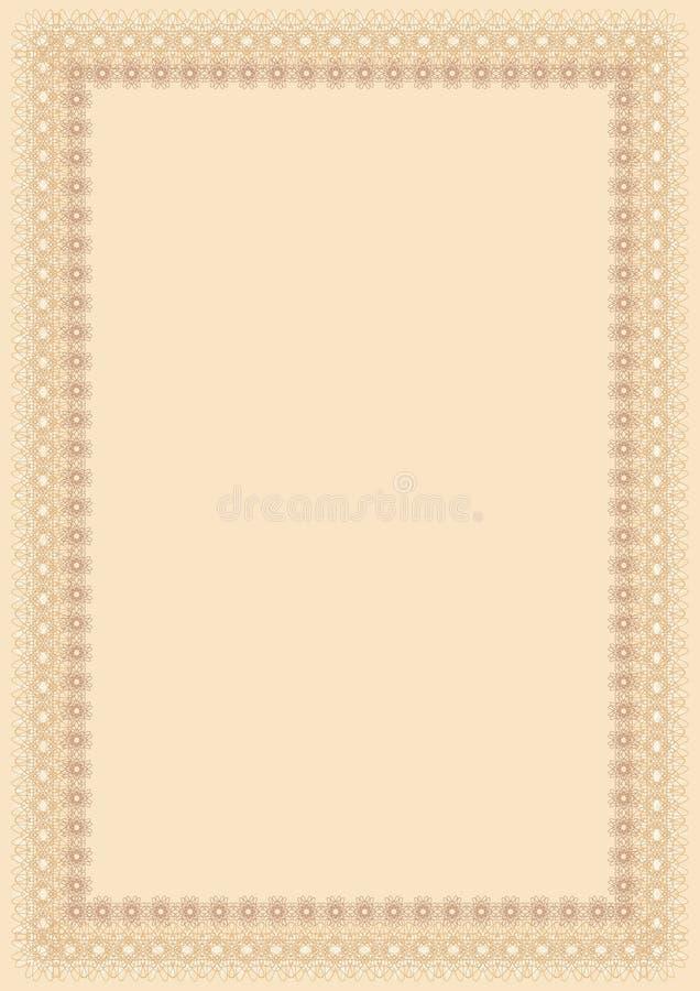Certificate, vector stock illustration