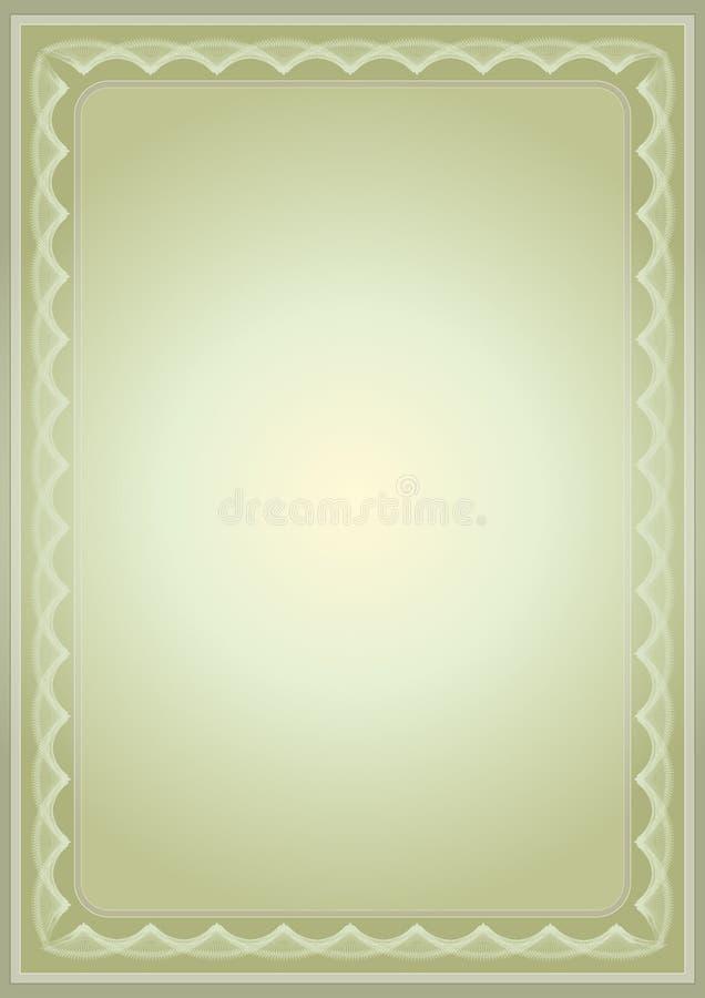 Free Certificate,vector Illustratio Stock Photo - 1231580
