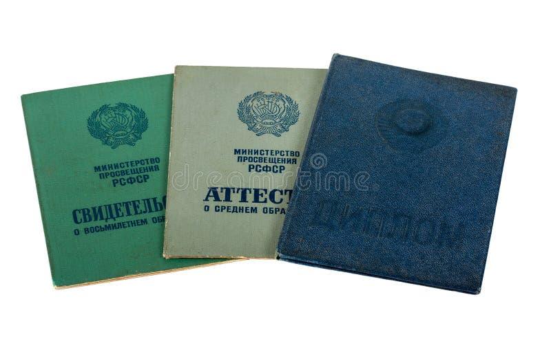 Download Certificati Dello Studente Di Istruzione Immagine Stock - Immagine di allievo, università: 30825411