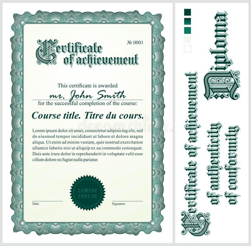 Certificato verde mascherina verticale royalty illustrazione gratis
