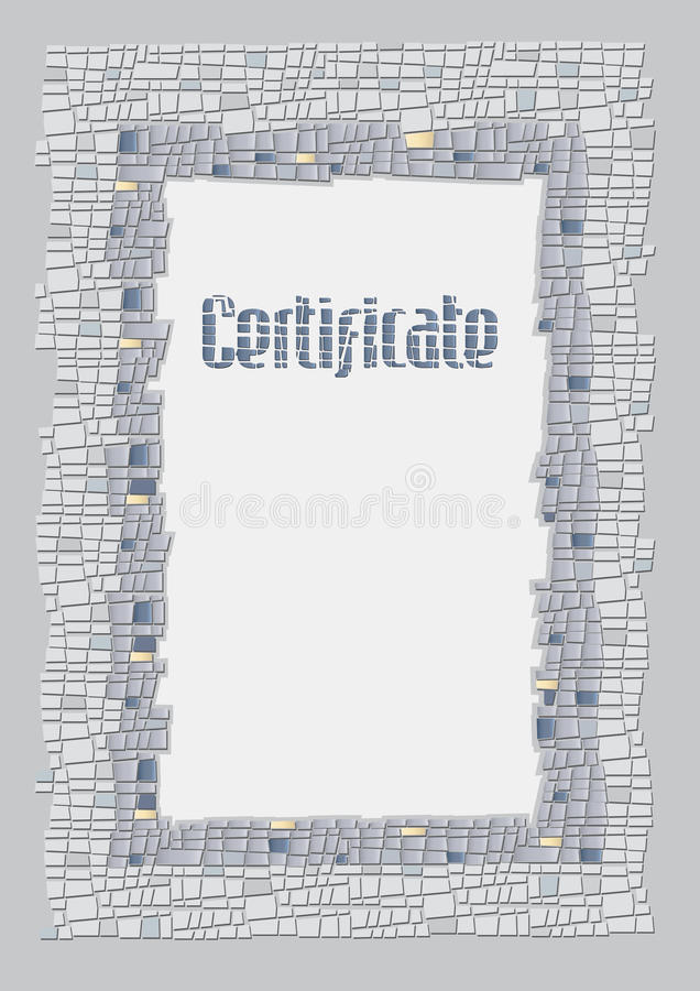 Download Certifikat vektor illustrationer. Bild av bana, snidit - 23431276