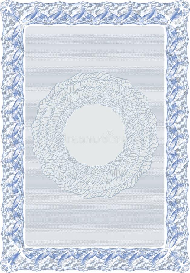 certifikat för 01 bakgrund vektor illustrationer
