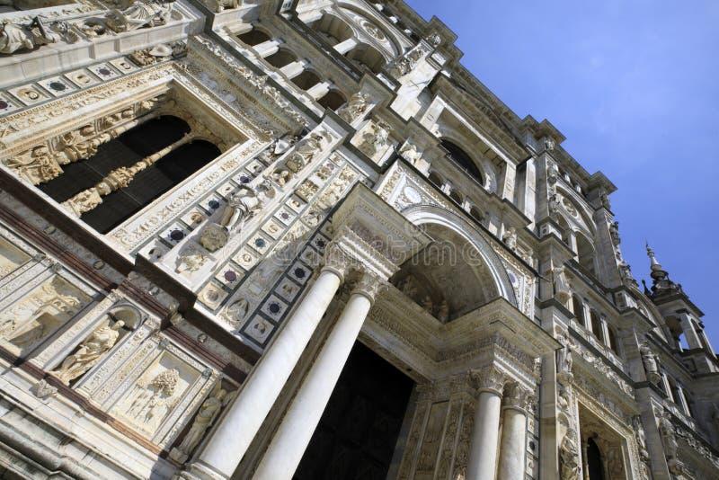 Certosa二帕尔瓦 库存图片
