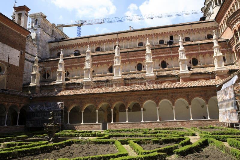 Certosa二帕尔瓦 免版税图库摄影