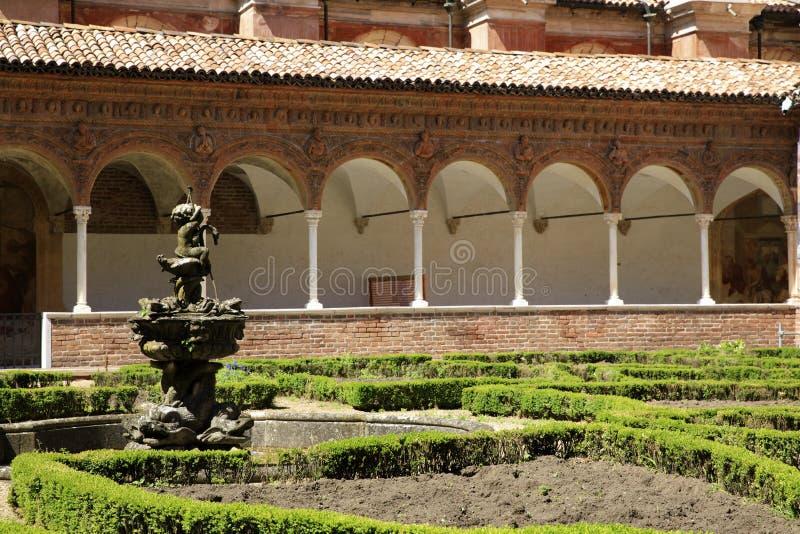 Certosa二帕尔瓦 免版税库存照片
