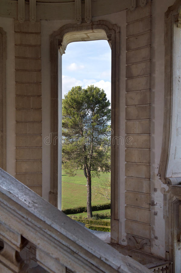 Certosa二帕杜拉,萨莱诺 意大利 库存照片