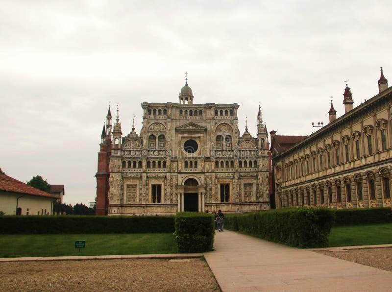 Certosa Павии, Италии стоковые изображения
