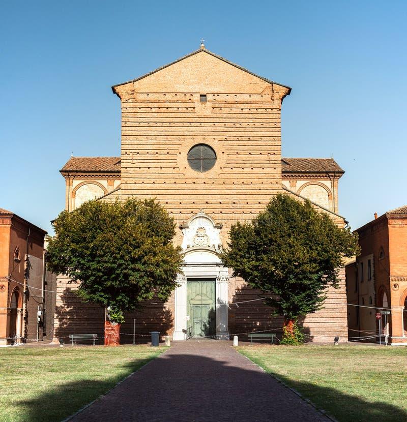 Certosa -费拉拉,意大利 库存照片