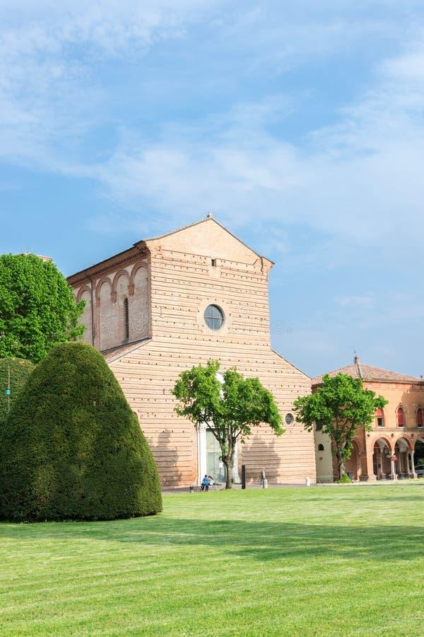 Certosa av Ferrara arkivbild