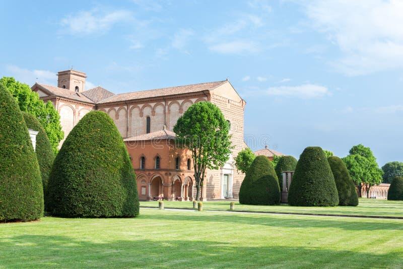 Certosa av Ferrara royaltyfria bilder