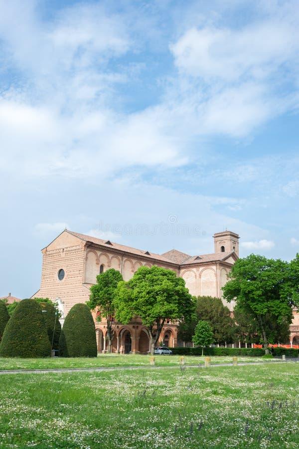 Certosa av Ferrara arkivbilder