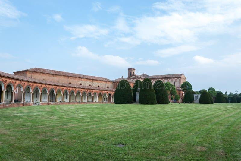 Certosa av Ferrara arkivfoton