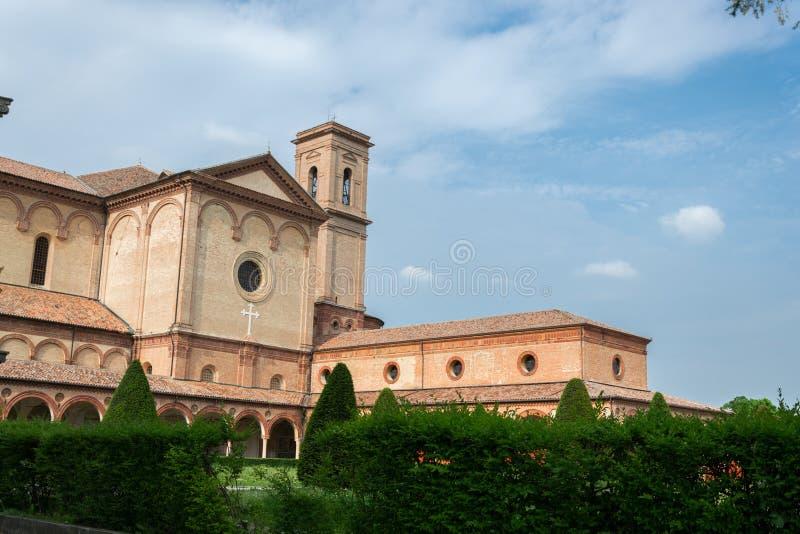 Certosa av Ferrara royaltyfri fotografi