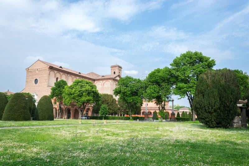 Certosa av Ferrara fotografering för bildbyråer