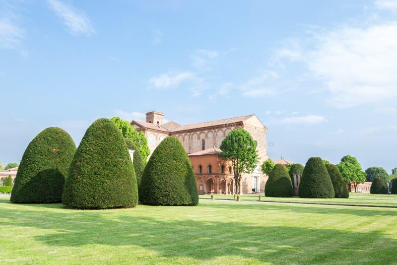 Certosa de Ferrara fotografía de archivo