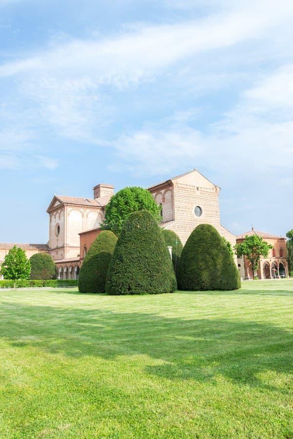 Certosa de Ferrara imágenes de archivo libres de regalías