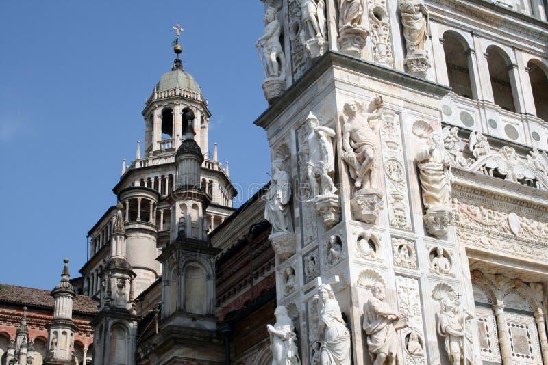 Certosa de Pavia foto de stock