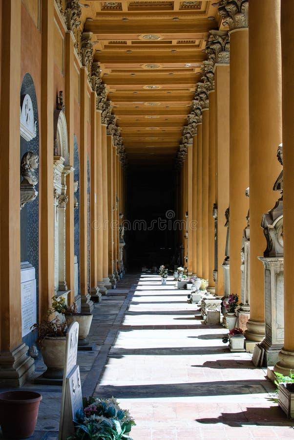 Certosa di Bologna fotografia stock
