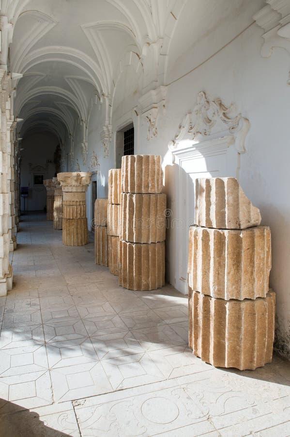 Certosa di Padula, Salerno l'Italie photos stock