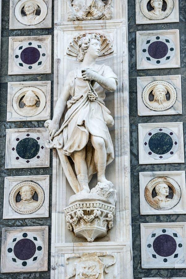 Certosa di Pavia obraz royalty free