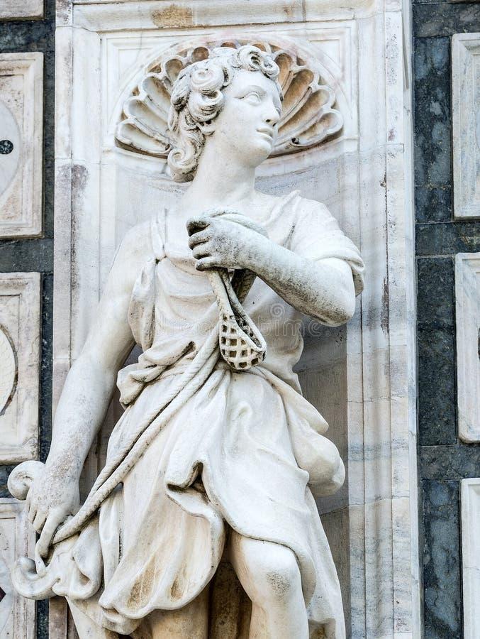 Certosa di Pavia fotografia royalty free