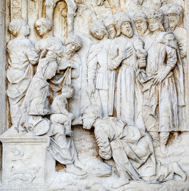 Certosa di Pavia zdjęcia royalty free