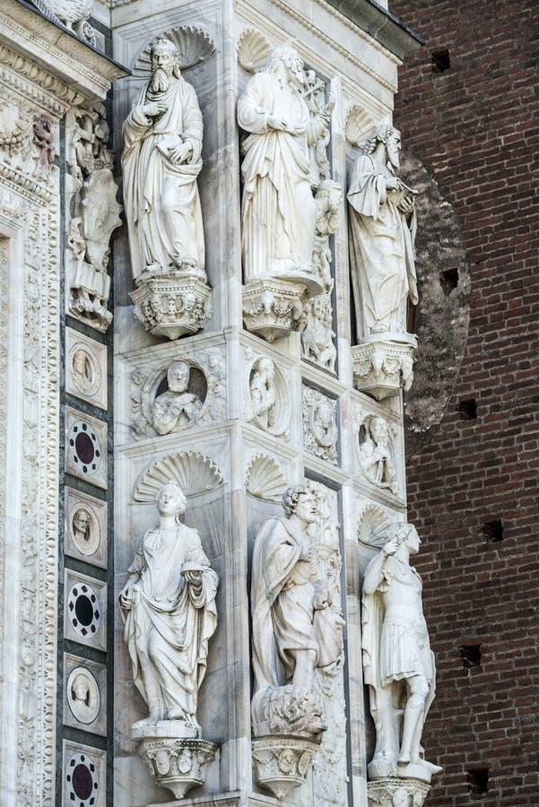 Certosa di Pavia obrazy royalty free